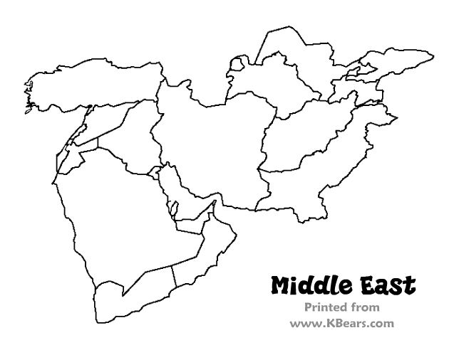 middle east map coloring page coloring page middle east free printable coloring pages map middle east coloring page