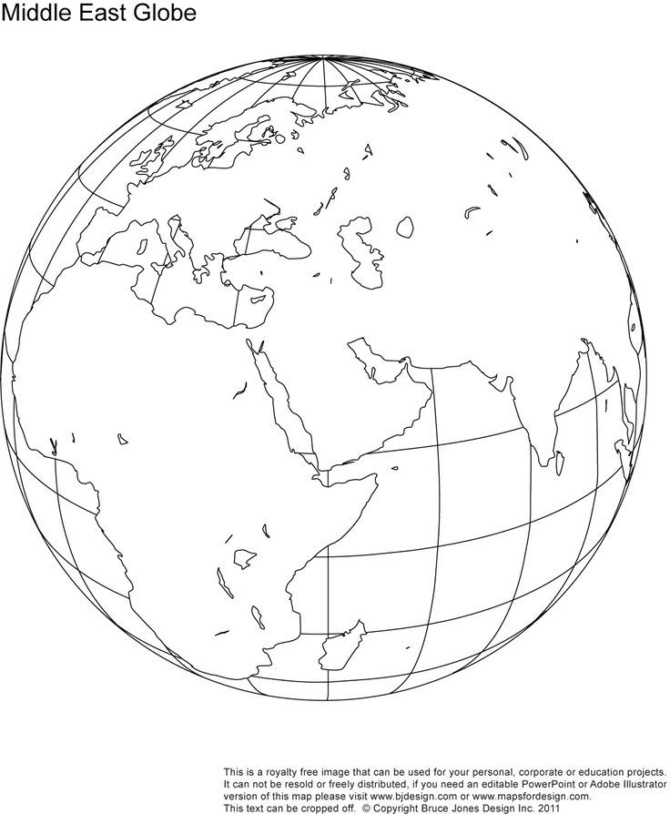 middle east map coloring page middle east globe map printable blank outline royalty coloring page east map middle
