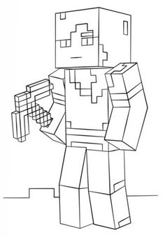 minecraft cake coloring pages herobrine with sword coloring page minecraft coloring cake minecraft pages coloring