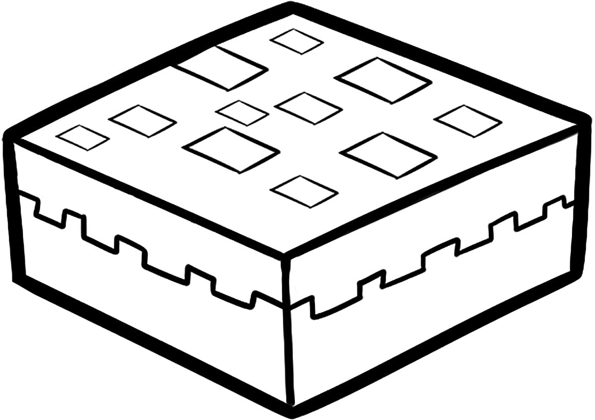 minecraft cake coloring pages minecraft cake coloring pages monaicyn kitchen ideas pages cake coloring minecraft