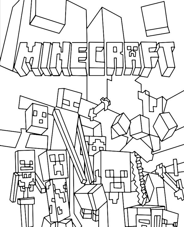 minecraft cake coloring pages minecraft minecraft characters in 2020 minecraft minecraft cake coloring pages