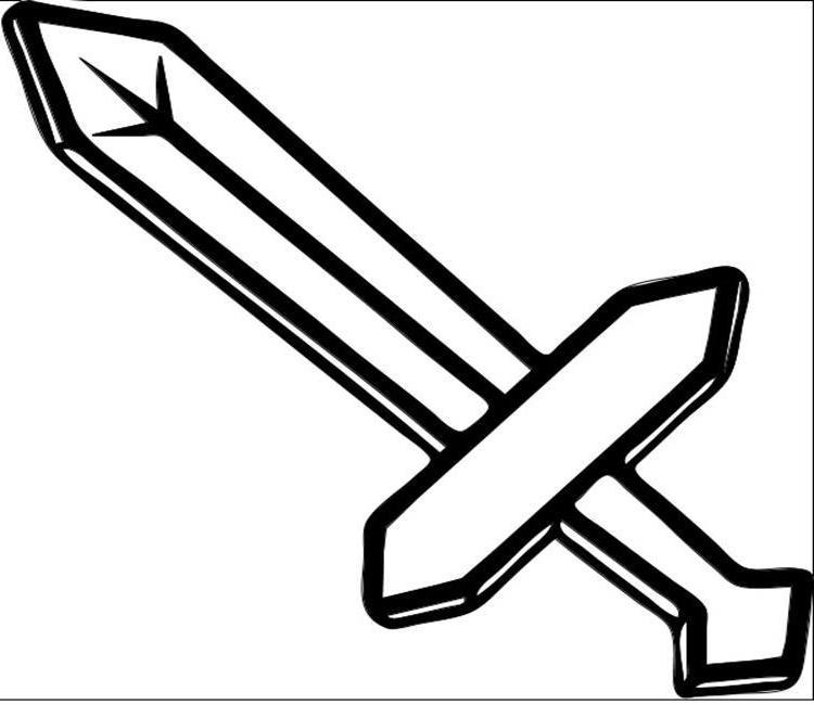 minecraft sword coloring pages 37 free printable minecraft coloring pages for toddlers pages minecraft coloring sword