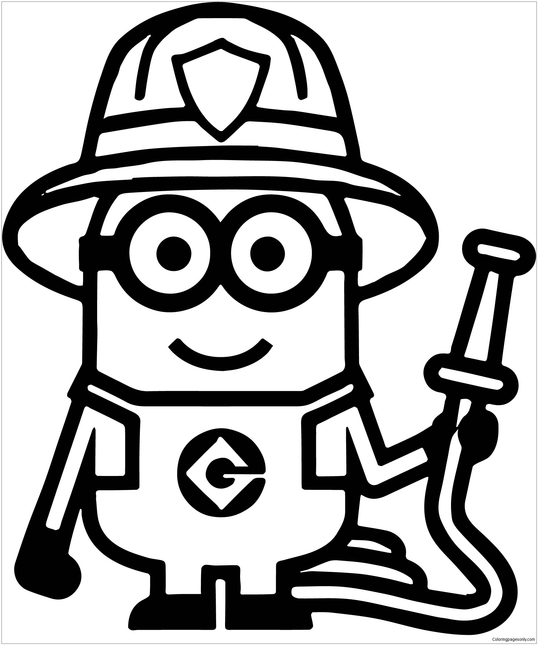 minion coloring pictures minion coloring pages best coloring pages for kids minion coloring pictures 1 1