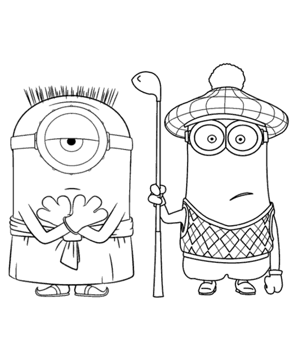 minion golf coloring page 24 best coloring books for toddlers in 2020 with images golf coloring page minion