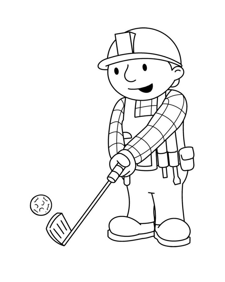 minion golf coloring page golf coloring pages at getcoloringscom free printable page minion golf coloring