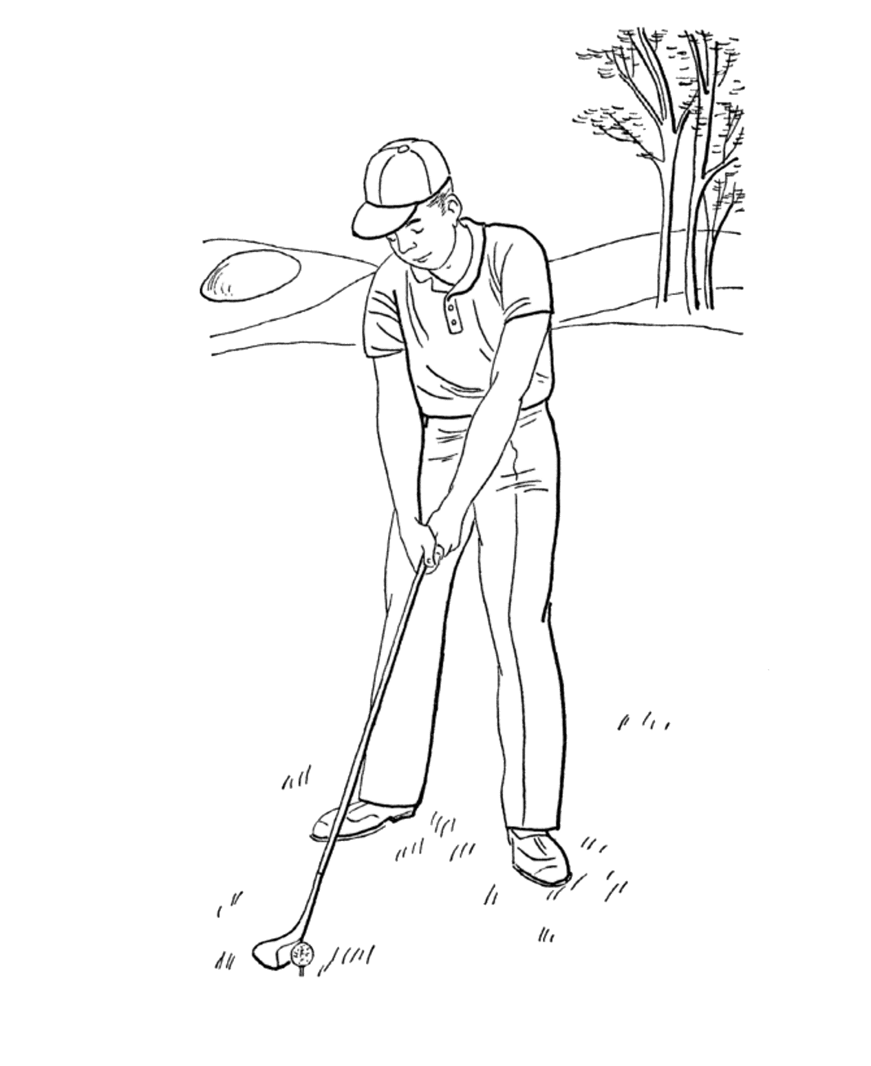 minion golf coloring page golf coloring pages toddler coloring book sports golf page minion coloring