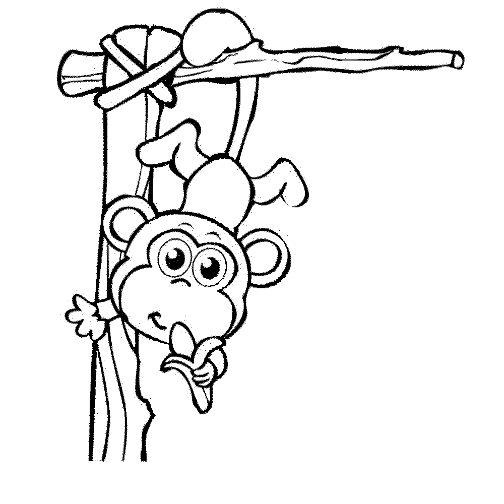 monkey pictures for coloring monkey coloring pages coloring for monkey pictures
