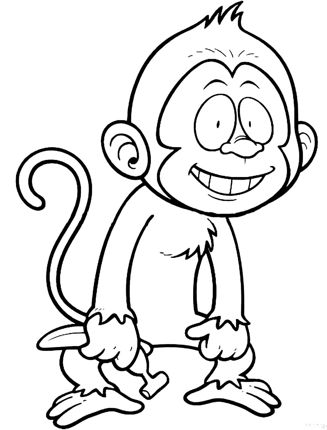 monkey pictures for coloring print download coloring monkey head with monkey pictures monkey for coloring