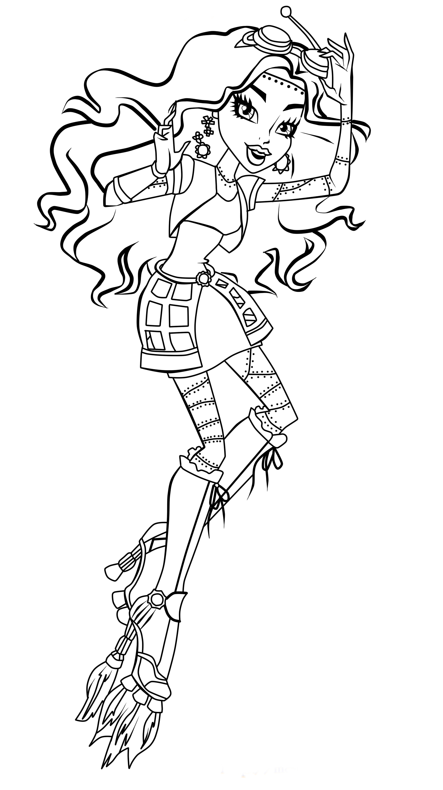 monster high coloring pages print free printable monster high coloring pages scribblefun high pages coloring monster print