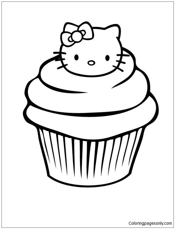 muffin pictures to color birthday coloring pages by coloring fun on food drink to pictures muffin color