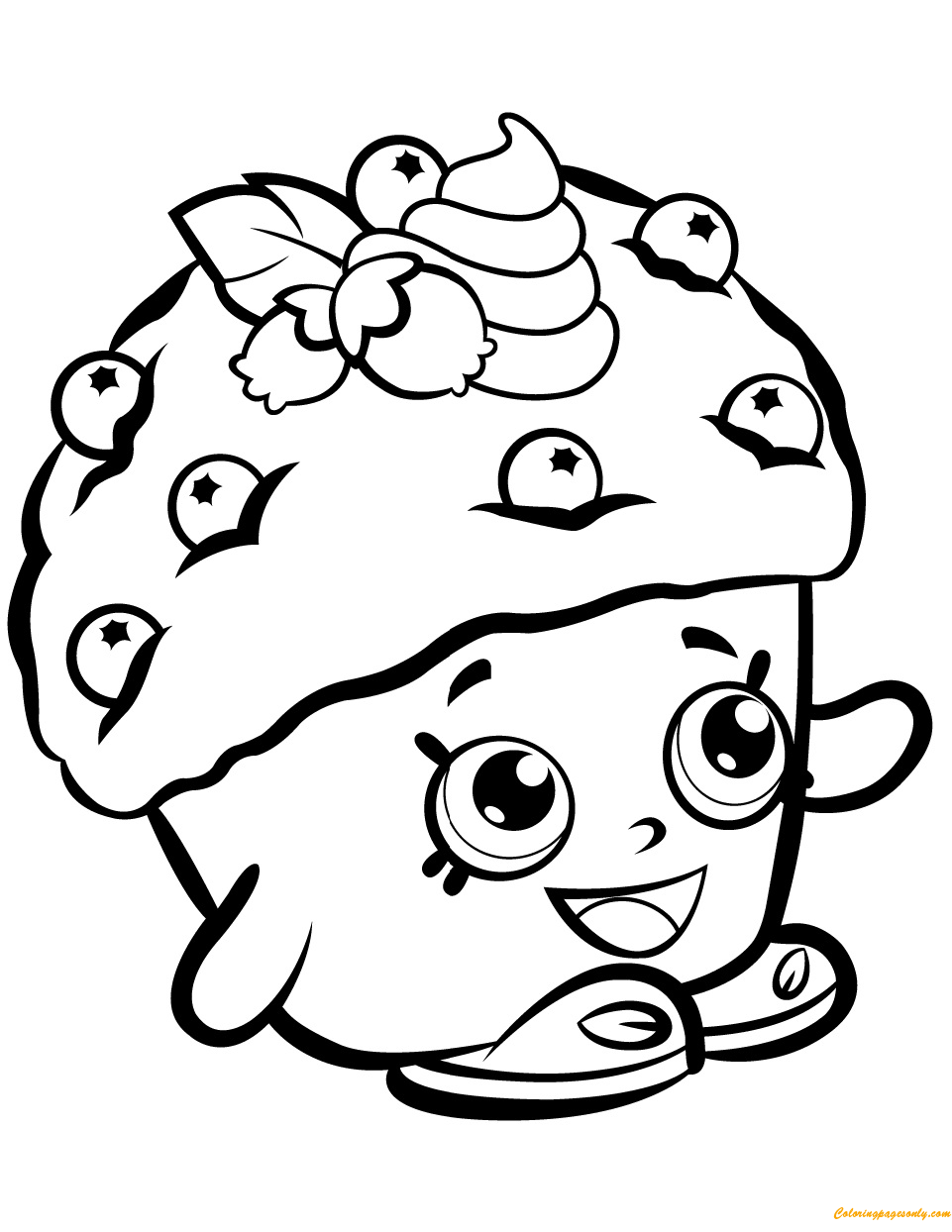 muffin pictures to color cupcake muffin bakery frosting icing coloring book png to color pictures muffin