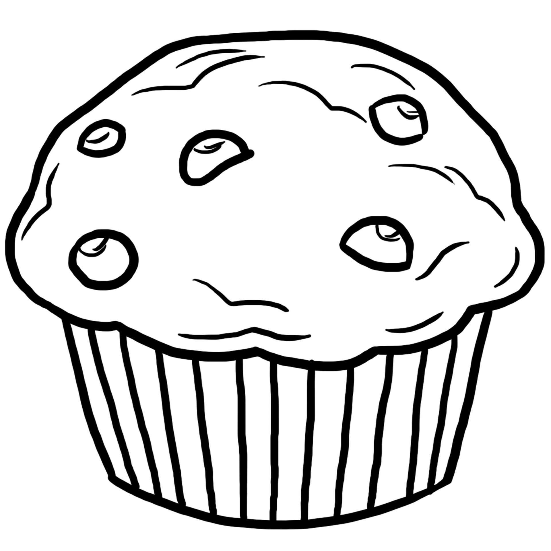 muffin pictures to color muffin clipart coloring page muffin coloring page muffin to pictures color