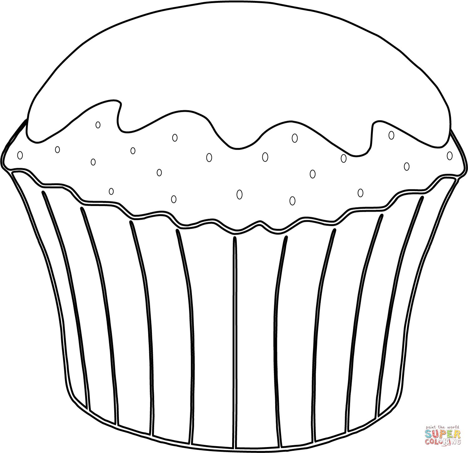 muffin pictures to color muffin coloring page at getcoloringscom free printable to pictures muffin color