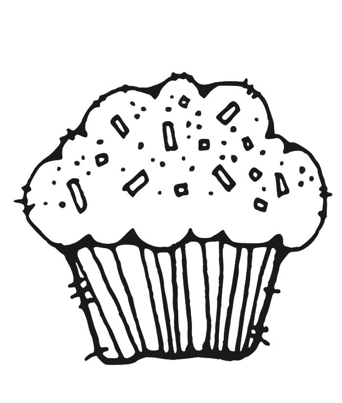 muffin pictures to color muffin coloring page at getdrawings free download muffin to pictures color