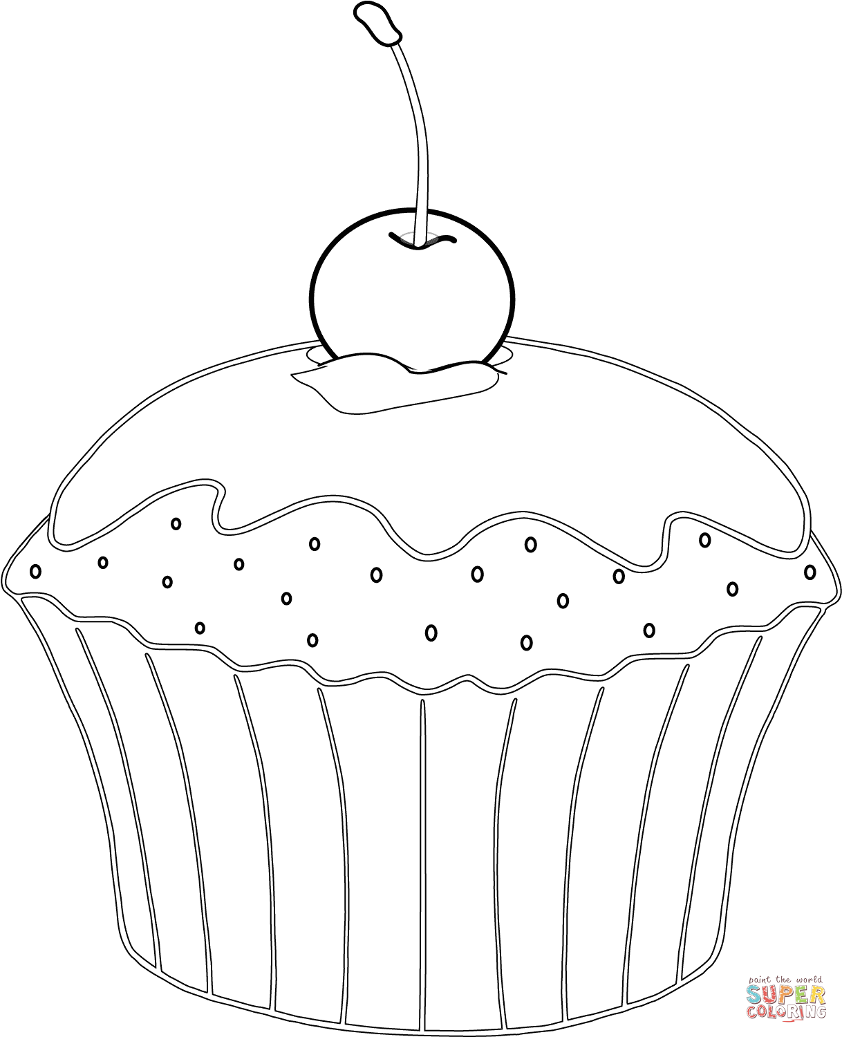 muffin pictures to color muffin coloring pages muffin to color pictures