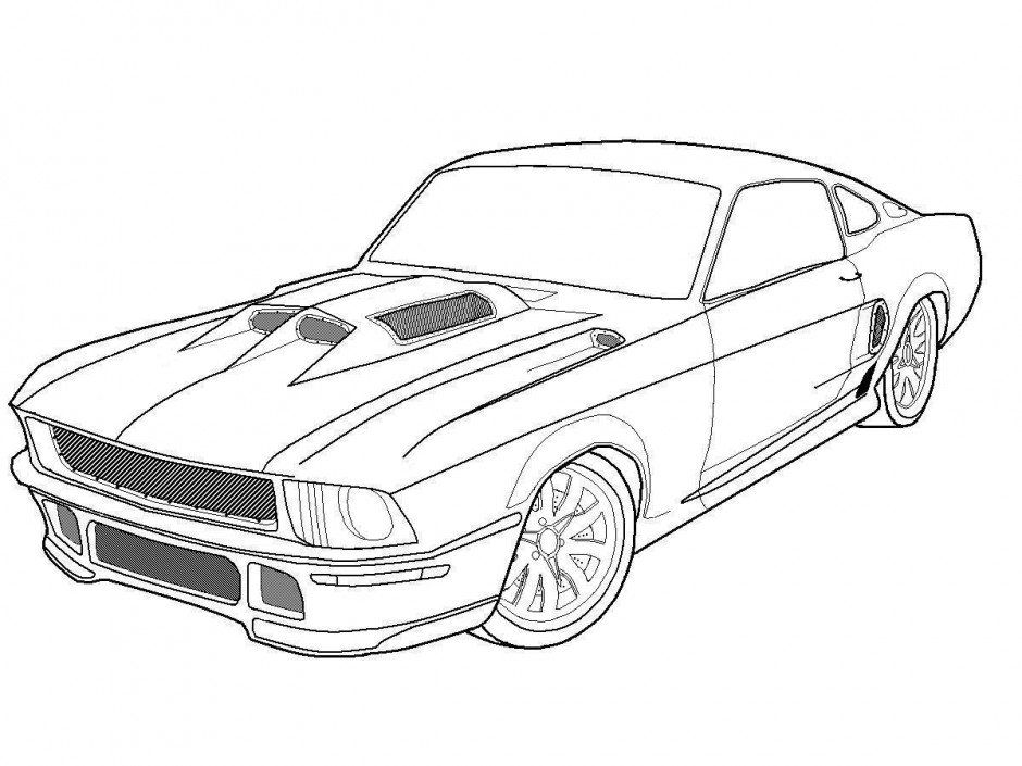 muscle car colouring pages muscle car coloring pages to download and print for free car muscle colouring pages