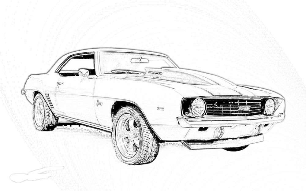 muscle car colouring pages muscle car coloring pages to download and print for free muscle car colouring pages 1 1
