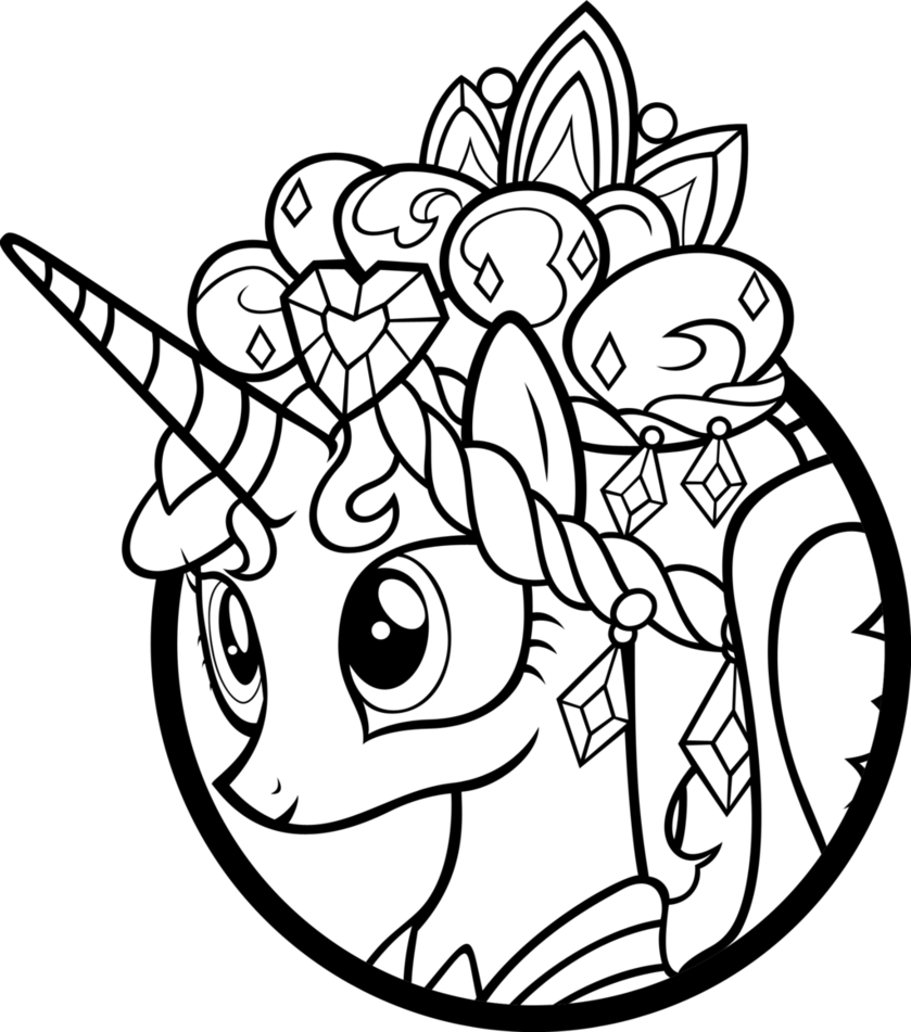 my little pony coloring pages princess cadence free printable my little pony coloring pages for kids my pony my cadence little coloring pages princess