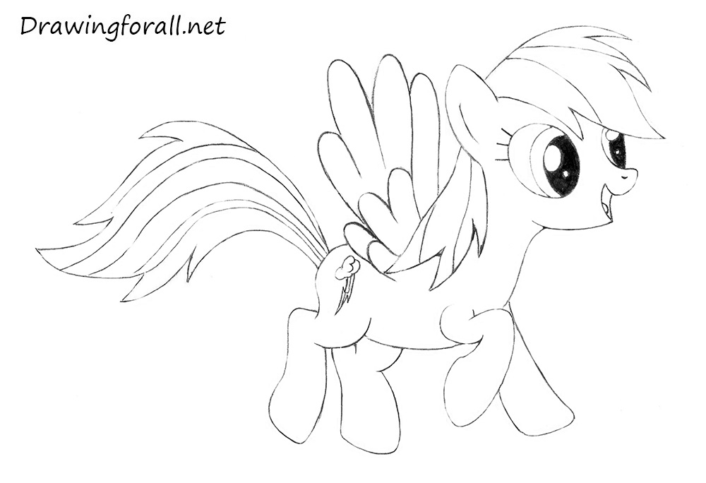 my little pony pictures of rainbow dash how to draw rainbow dash drawingforallnet dash pony of little my pictures rainbow