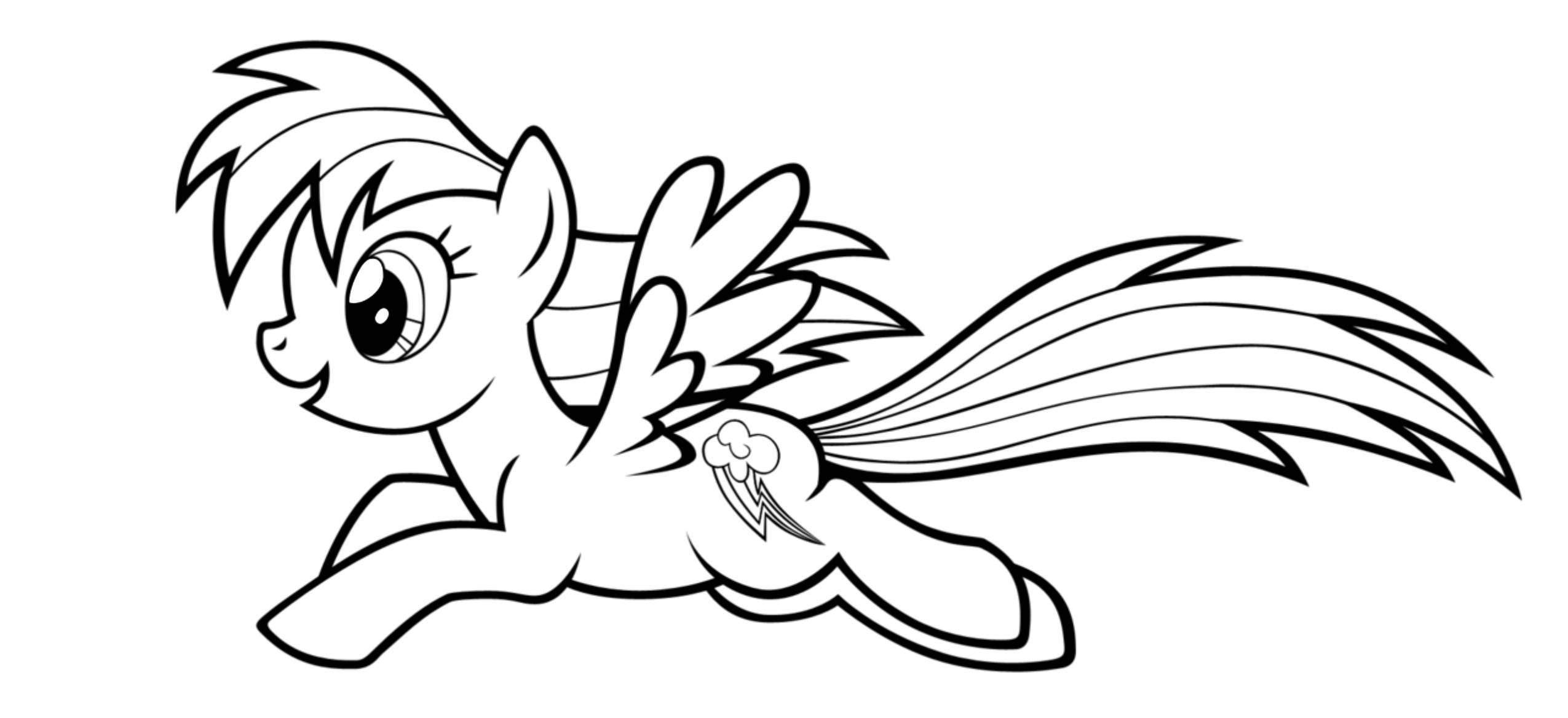 my little pony pictures of rainbow dash print download colorful rainbow dash coloring pages to pictures rainbow of pony little dash my
