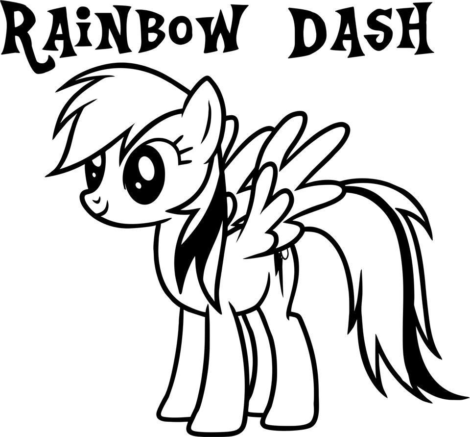 my little pony pictures of rainbow dash rainbow dash coloring pages team colors my little dash pictures of pony rainbow