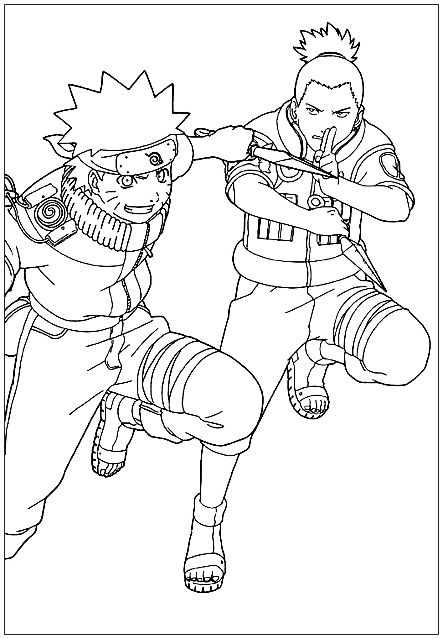 naruto coloring images coloring pages of naruto shippuden characters printable coloring naruto images