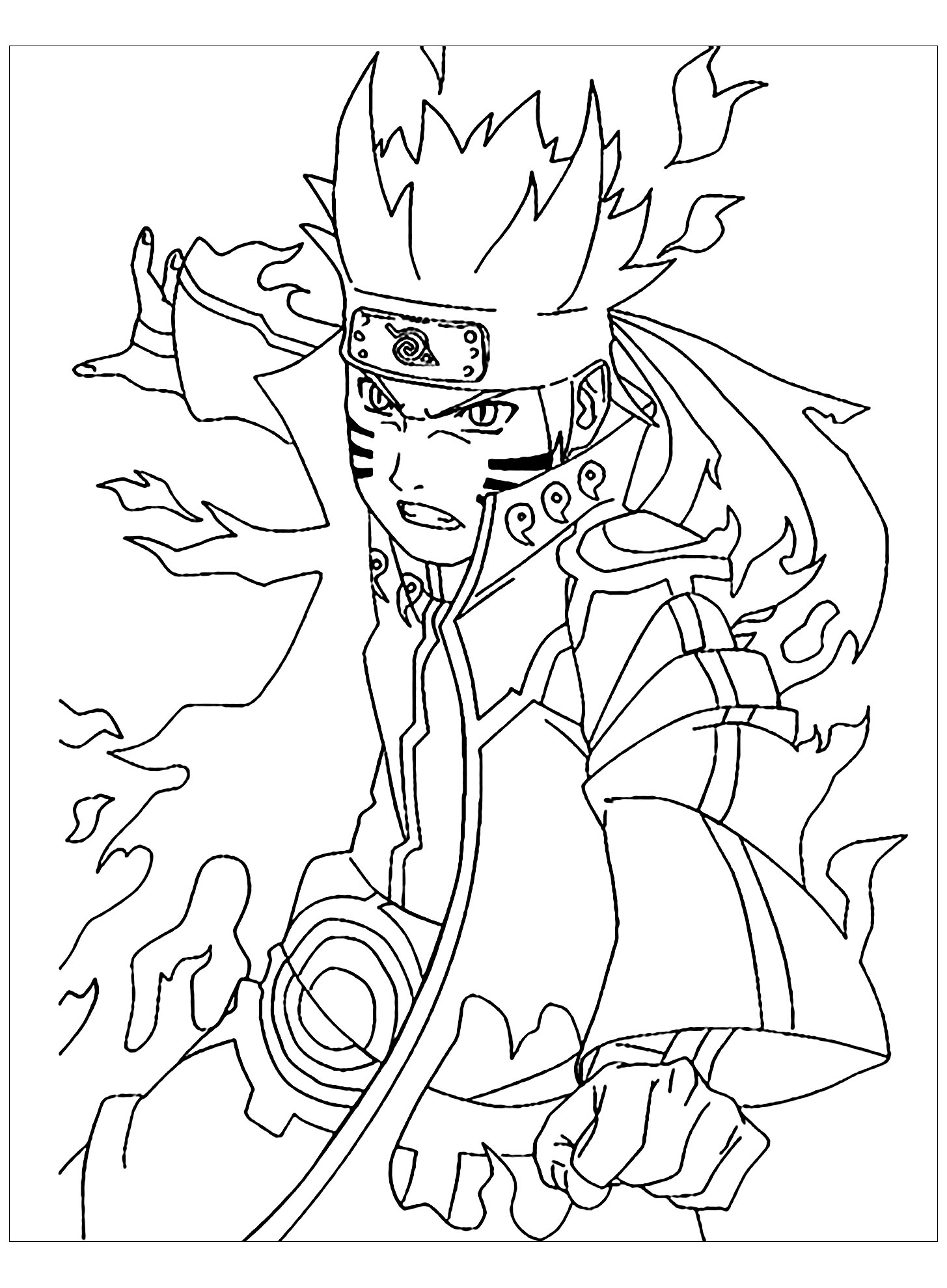 naruto coloring images printable naruto coloring pages to get your kids occupied coloring naruto images
