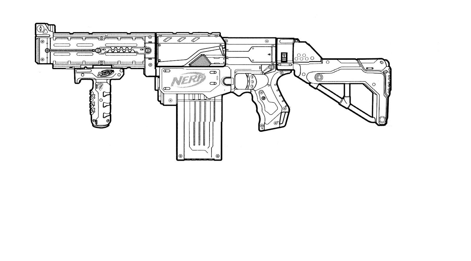 nerf gun coloring pages gun coloring pages download and print for free gun nerf pages coloring