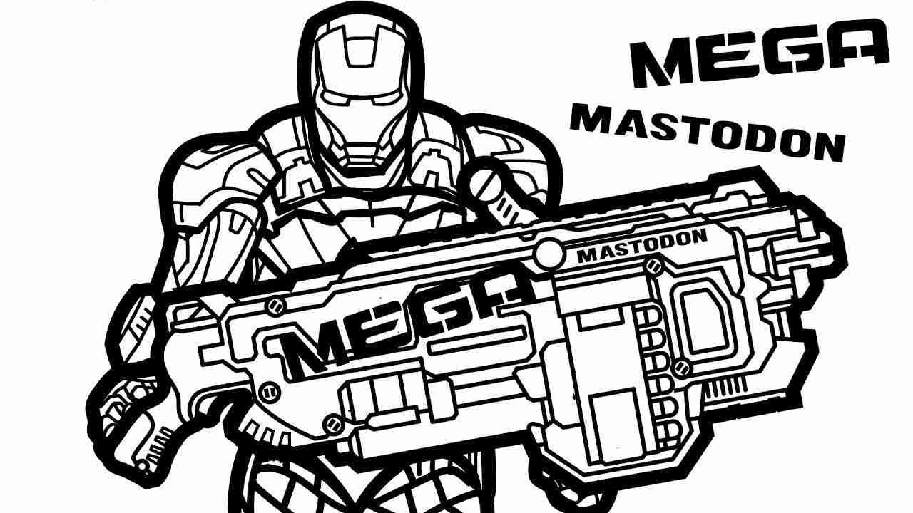 nerf gun coloring pages nerf gun coloring page to print pages coloring nerf gun