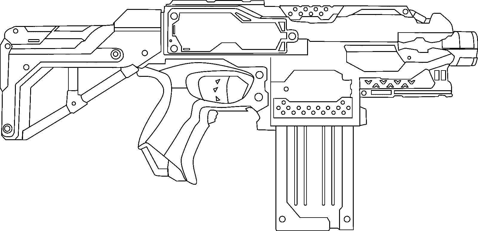 nerf gun coloring pages nerf gun coloring pages coloring home gun nerf coloring pages