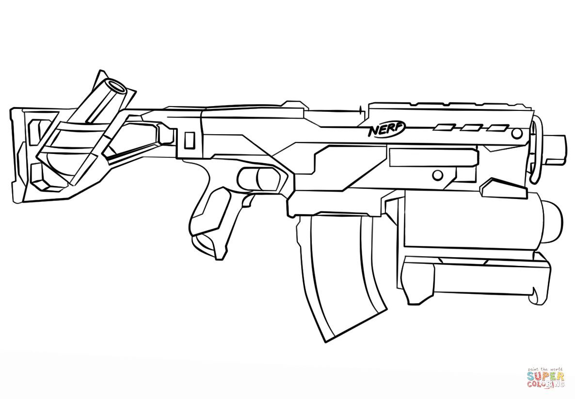 nerf gun coloring pages nerf gun coloring pages educative printable pages gun nerf coloring