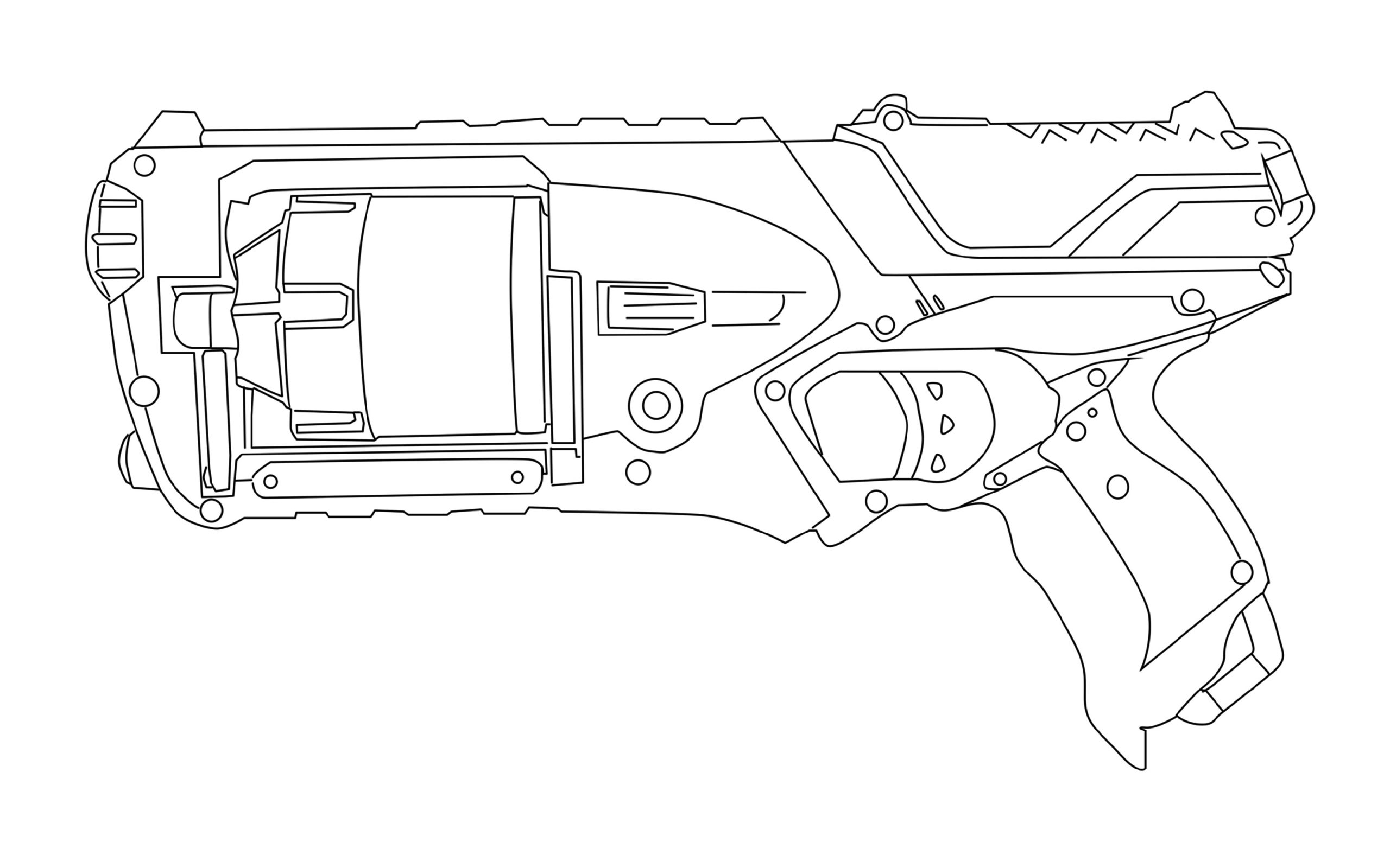 nerf gun coloring pages nerf gun coloring pages pages nerf coloring gun