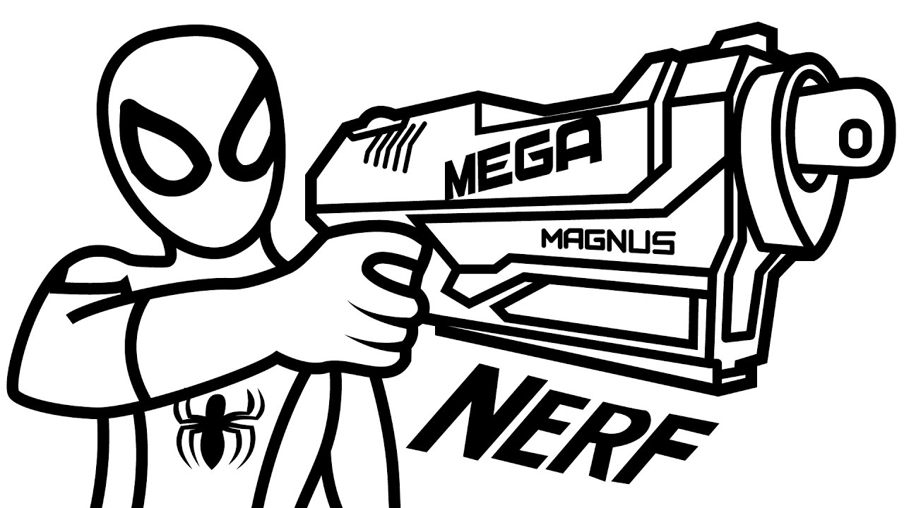 nerf gun coloring pages nerf gun coloring pages simple 101 worksheets pages coloring gun nerf