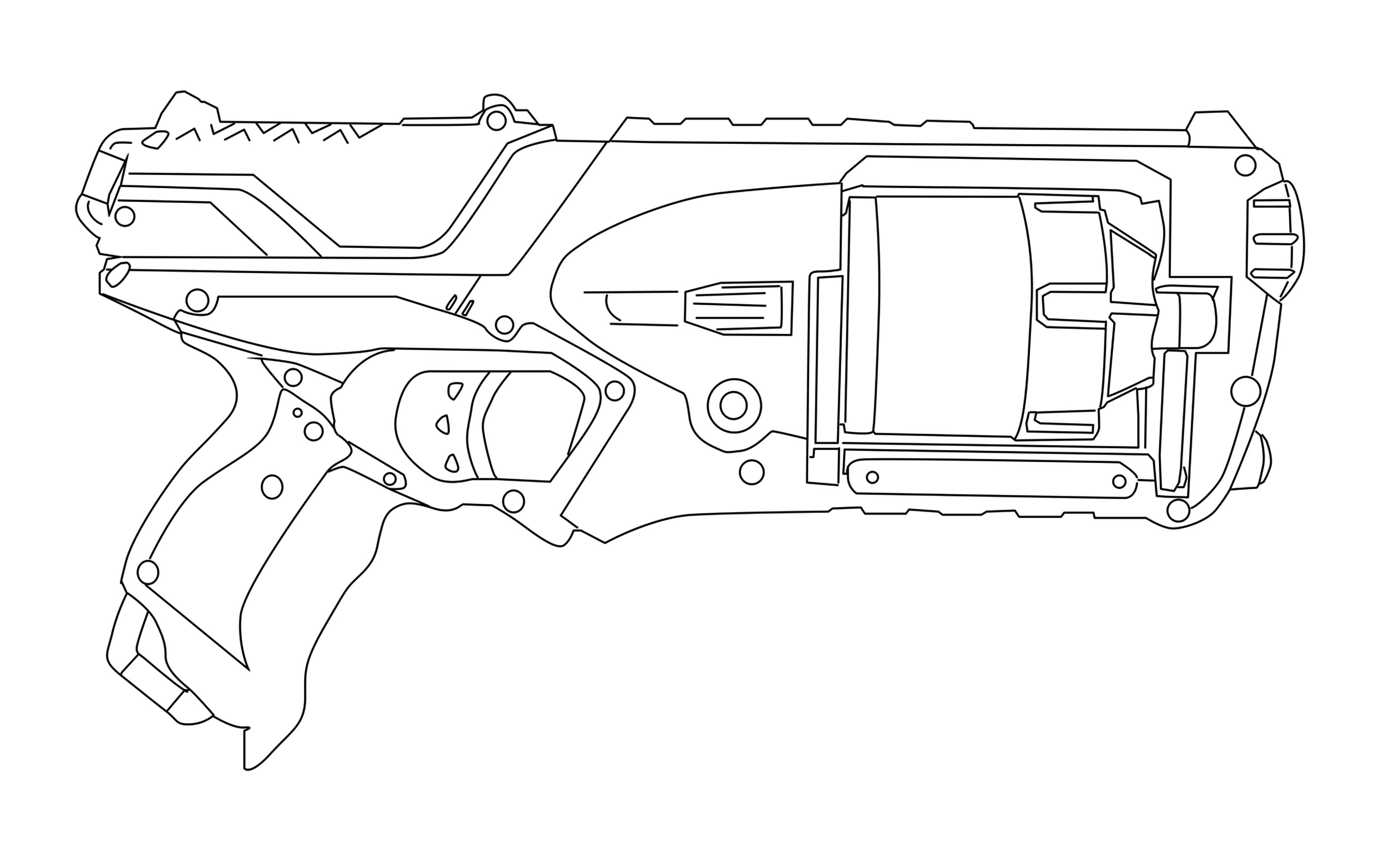 nerf gun coloring pages nerf guns coloring pages print for free wonder day nerf coloring gun pages