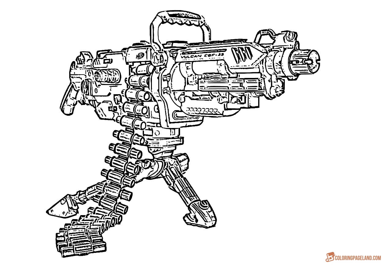 nerf gun coloring pages pin on fun coloring sheet gun pages coloring nerf
