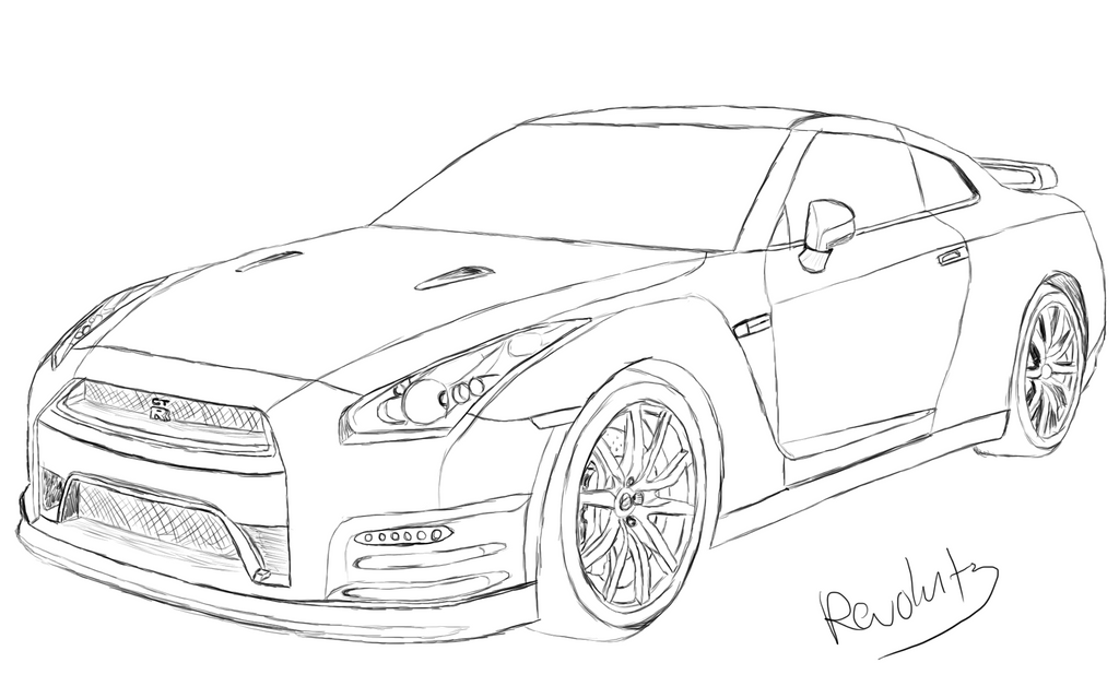 nissan gtr colouring pages gtr coloring pages downloadable educative printable nissan gtr colouring pages