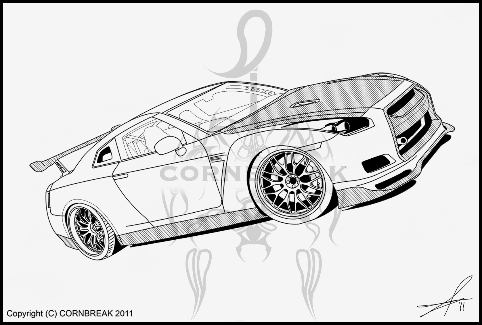 nissan gtr colouring pages nissan gtr coloring pages at getdrawings free download pages gtr nissan colouring