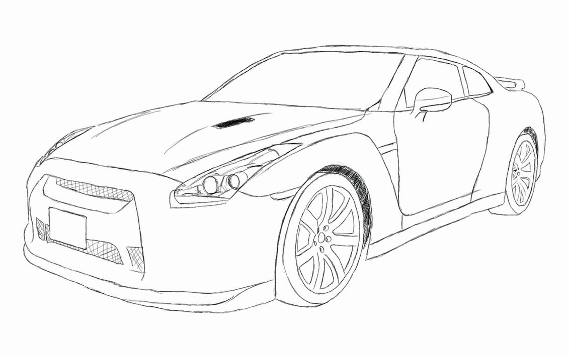 nissan gtr colouring pages sky lien gtr free coloring pages gtr nissan pages colouring