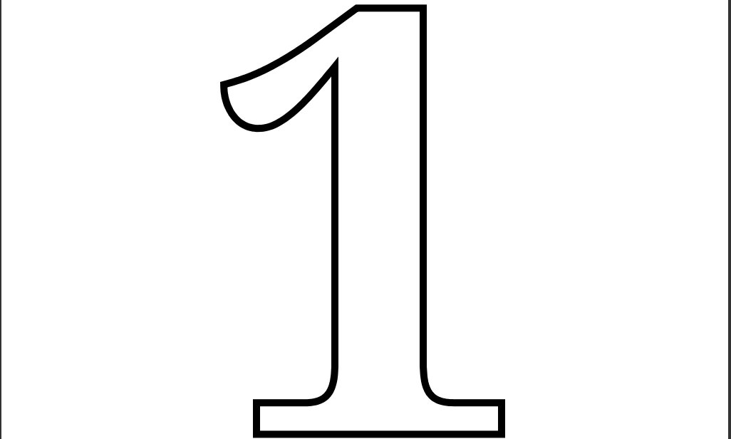 number 1 for coloring 7 best images of large number sheets 1 to 100 printable for 1 number coloring