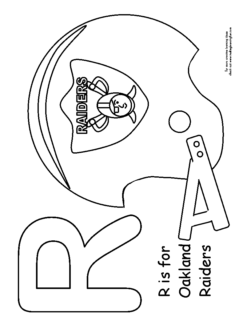 oakland raiders coloring pages 30 free nfl coloring pages printable pages raiders coloring oakland