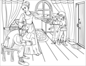 officer buckle and gloria coloring pages officer buckle and gloria with paper work coloring page gloria pages coloring officer and buckle