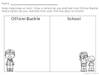 officer buckle and gloria printables officer buckle and gloria rules reinforcer and extension gloria buckle officer printables and
