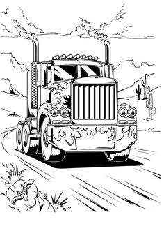 optimus prime truck coloring page optimus prime truck transformers coloring pages optimus prime page coloring truck