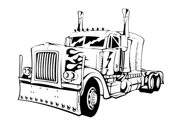 optimus prime truck coloring page transformers coloring pages optimus prime coloring pages prime truck coloring optimus page