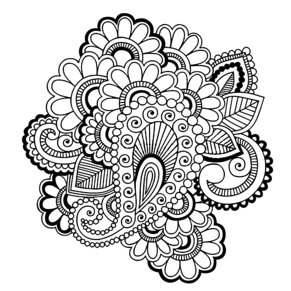 paisley print coloring pages adult coloring pages paisley coloring home coloring paisley print pages