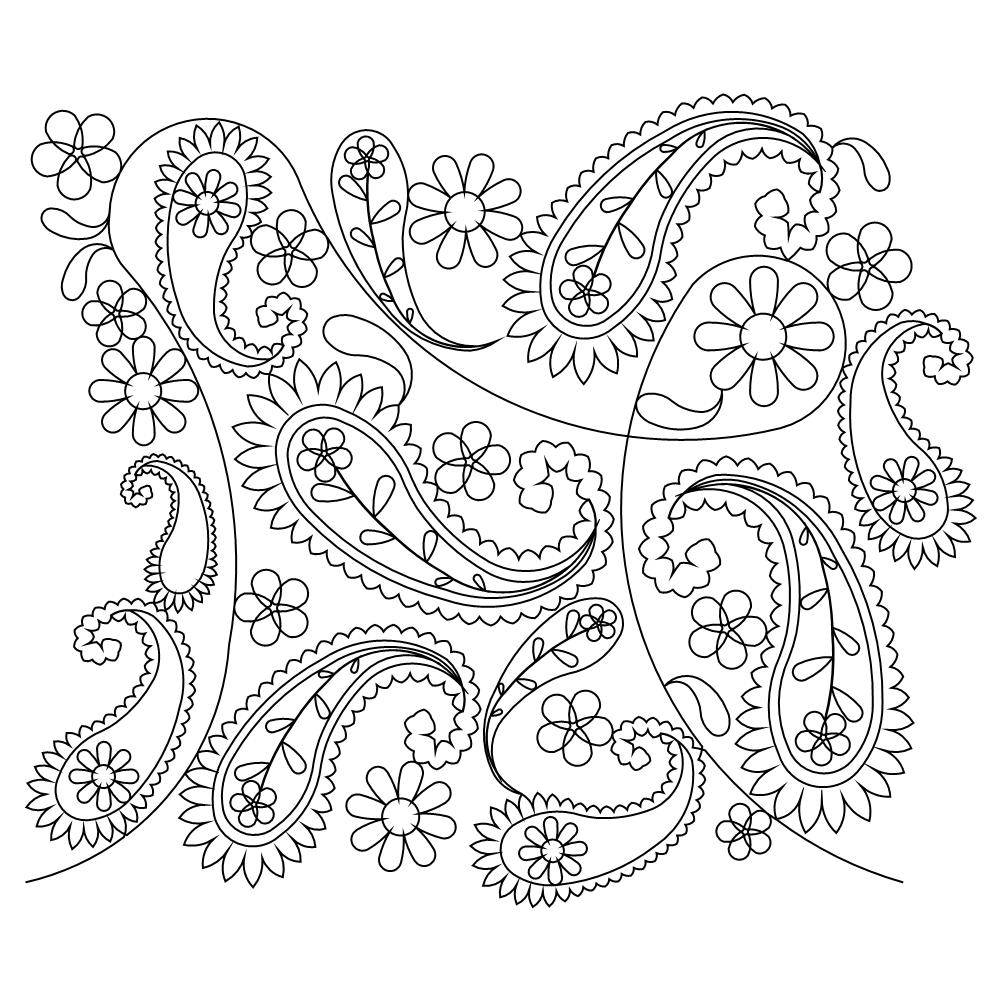 paisley print coloring pages free printable paisley coloring pages for adults coloring print paisley pages