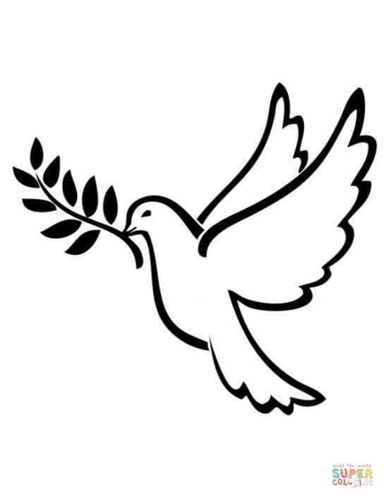 peace dove coloring page coloring page peace dove coloring pages for kids animal page coloring peace dove