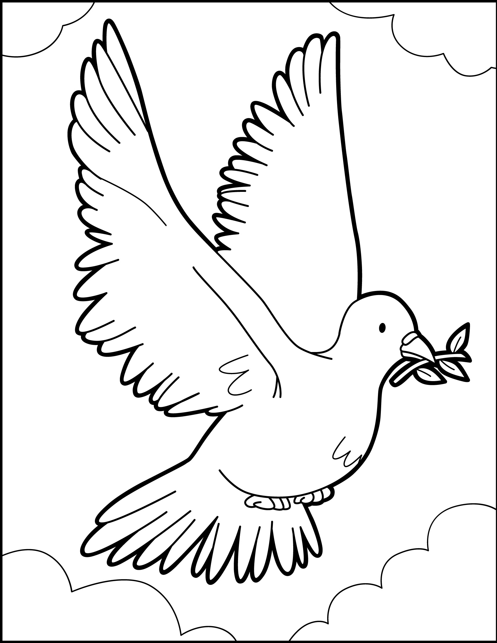 peace dove coloring page dove of peace coloring page art pinterest page coloring dove peace