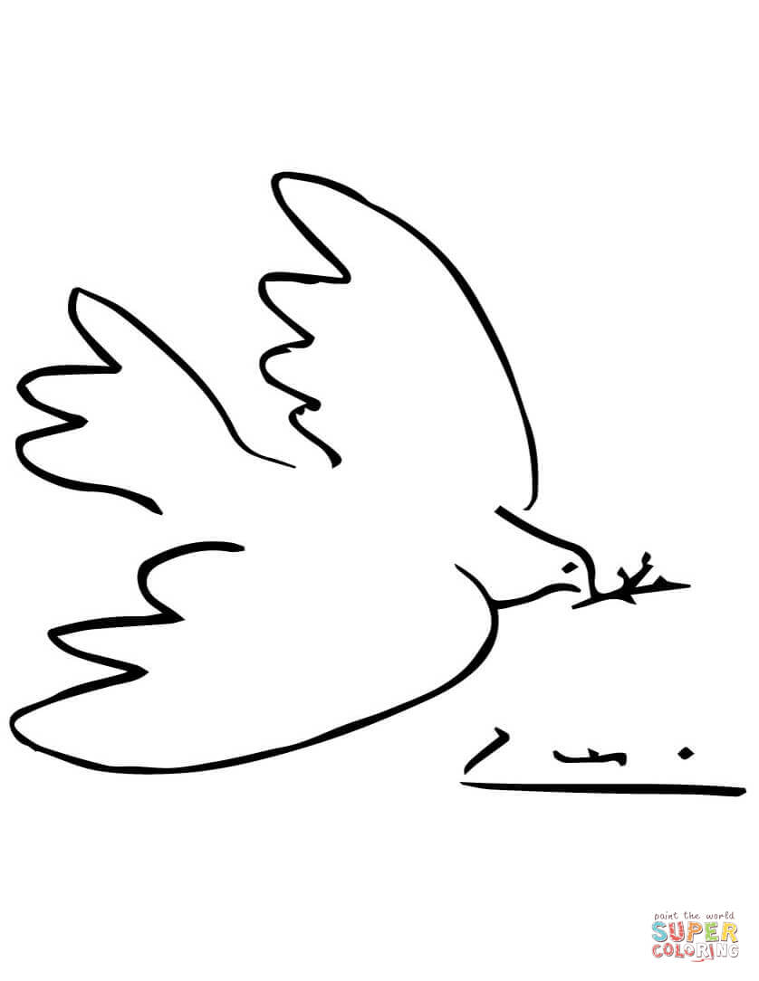 peace dove coloring page dove of peace coloring page dove of peace clipart best dove peace page coloring