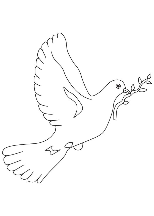 peace dove coloring page dove of peace coloring pages to download and print for free coloring page dove peace